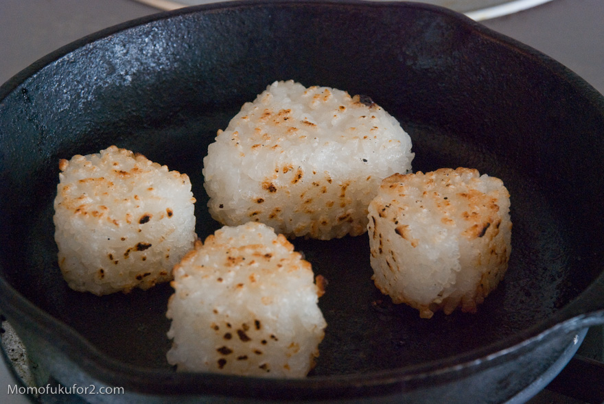 Yaki Onigiri Recipe | Cooking Momofuku at home - Momofuku for two