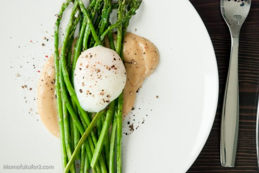 Pan-Roasted Asparagus | Cooking Momofuku at home - Momofuku for two